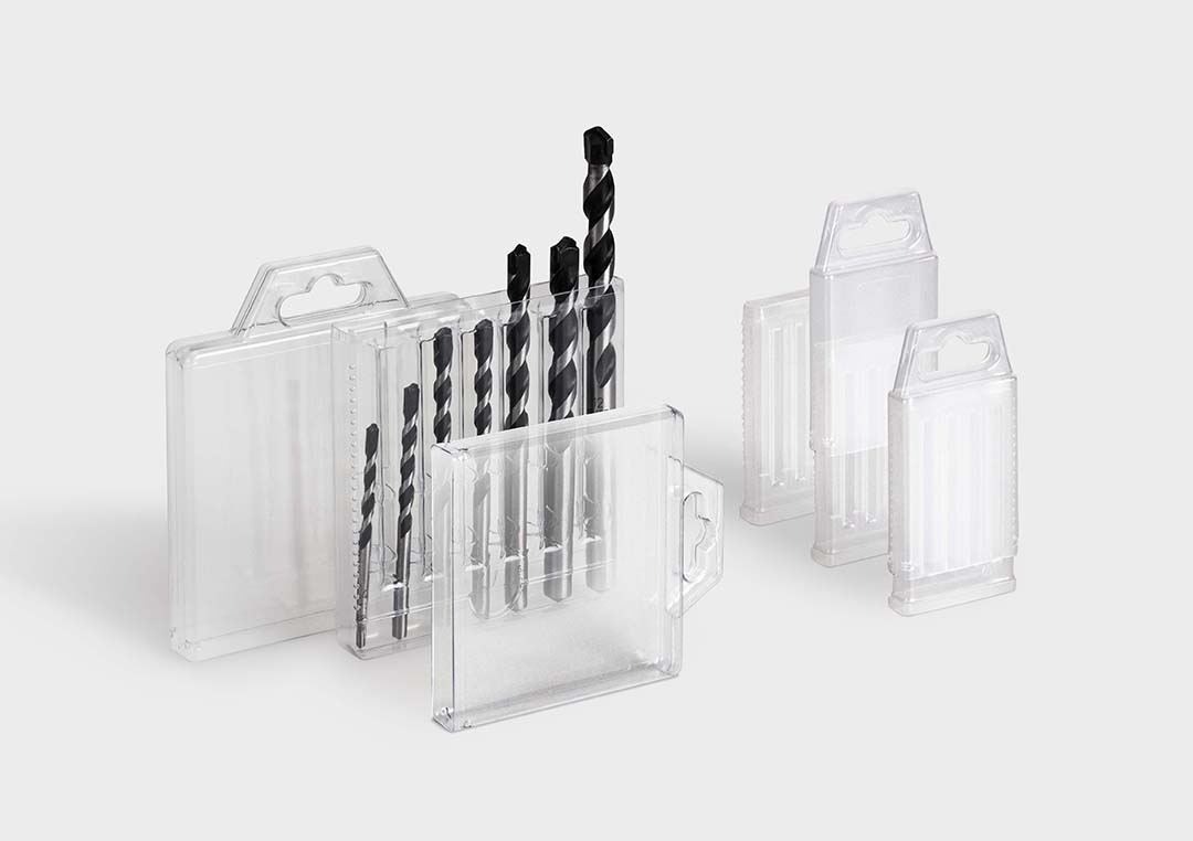 Tubo MultiPack: Packaging formato set para brocas.
